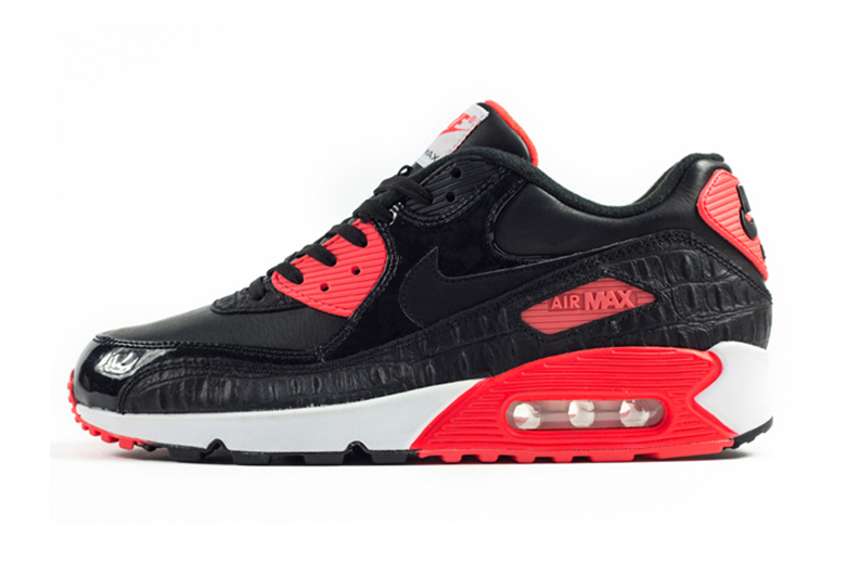nike air max 90 hyperfuse independence day black