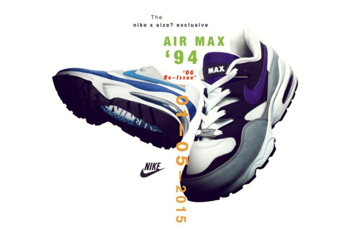Nike Air Max 94 OG size? Exclusives