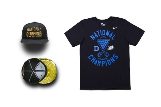 Nike Celebrates Duke's Championship With a Limited-Edition Capsule Collection