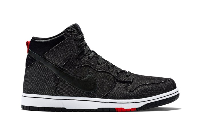 "Nike Dunk CMFT ""Black Denim"""