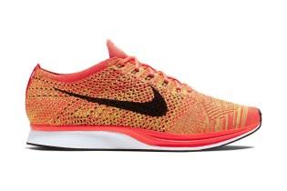 Nike Flyknit Racer Bright Crimson/Volt