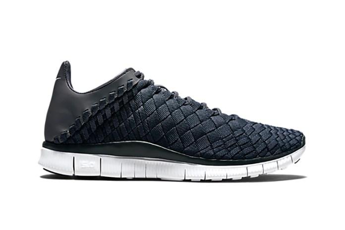 Nike Free Inneva Woven Anthracite/Dark Grey-White