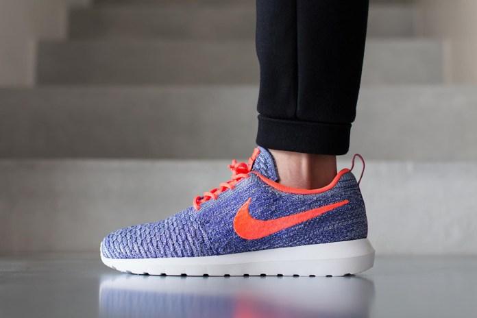 Nike Roshe Flyknit Persian Violet/Hot Lava