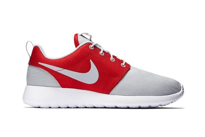 Nike Roshe One Wolf Grey/Gym Red