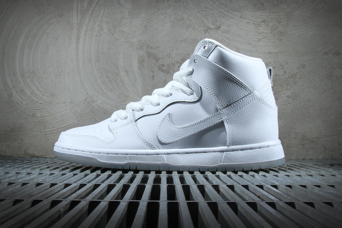 Nike SB Dunk High Pro White/Light Base Grey
