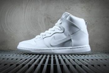 Nike SB Dunk High Pro White/Light Base Grey