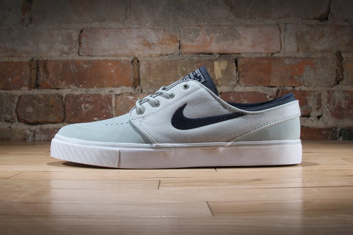 "Nike SB Zoom Stefan Janoski Leather ""Grey Mist"""