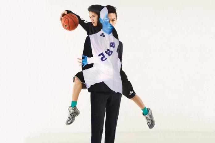 Nike Shot in Multiple Exposures