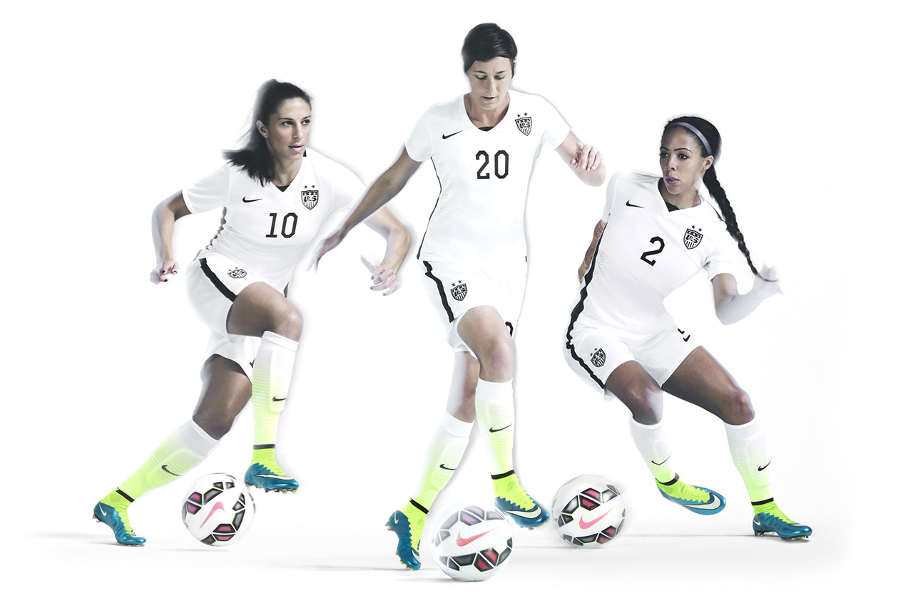 Nike Unveils U.S. Women's National Team Home Kit and Footwear Collection