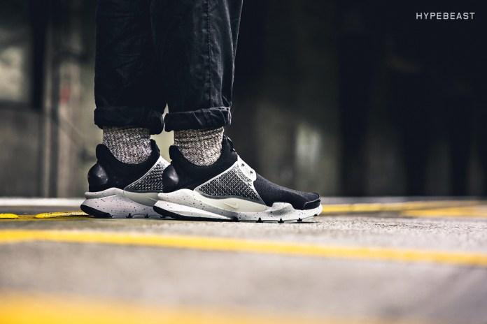 "A Closer Look at the fragment design x NikeLab Sock Dart ""Black"""