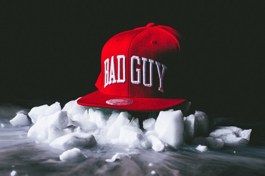 """Party With Villains x Mitchell & Ness """"Bad Guy"""" Snapback"""