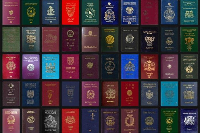 Passport Index Displays and Ranks Passports From Around the World