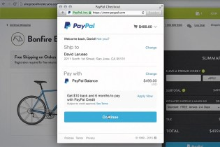 "PayPal Brings Its ""One Touch"" Checkout to the Web"