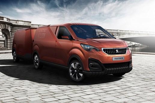 """Peugeot """"Le Bistro du Lion"""" Food Truck"""