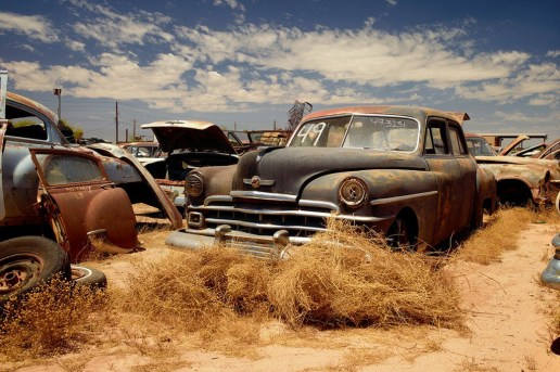 Photographs of Car Graveyards Around the World by Dieter Klein