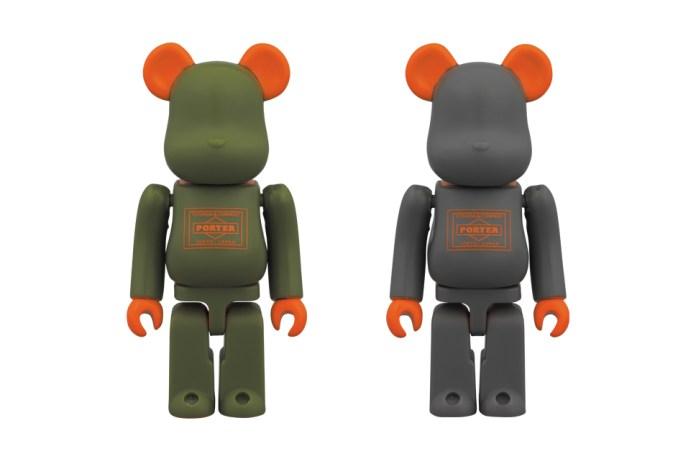"PORTER STAND x Medicom Toy ""1st Anniversary"" Bearbricks"