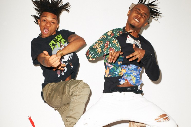 Rae Sremmurd Visits Terry Richardson's Studio