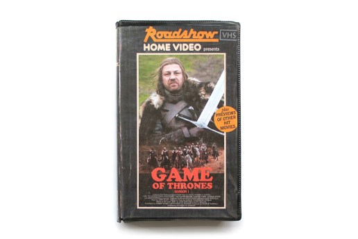 Reimagining Modern Movies and TV Shows as VHS Tapes