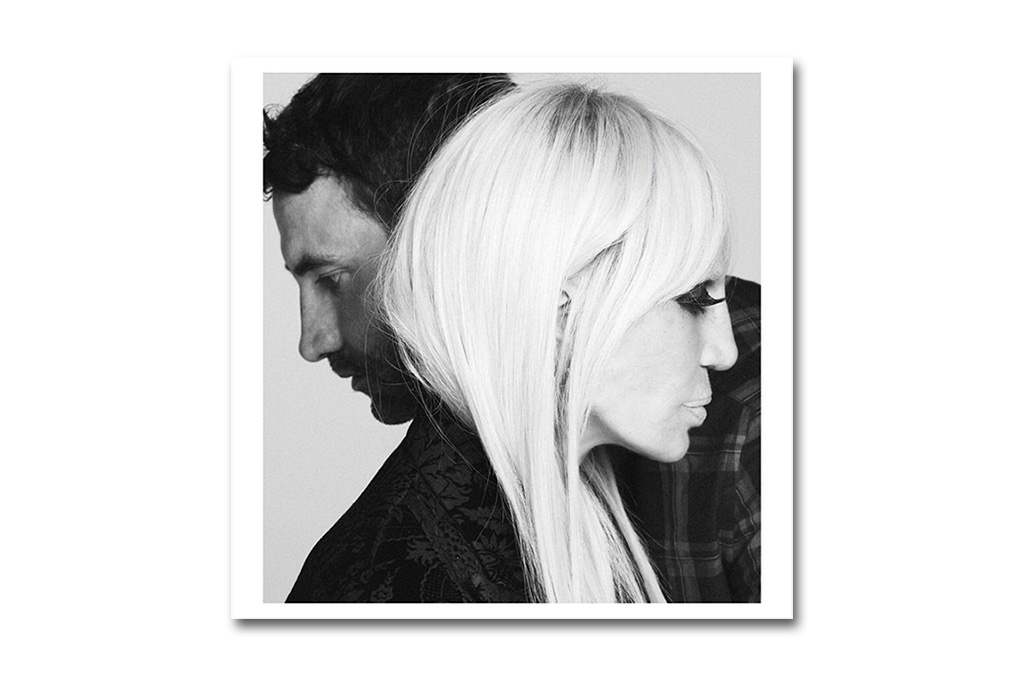 Riccardo Tisci Teases Givenchy 2015 Fall/Winter Family Campaign featuring Donatella Versace