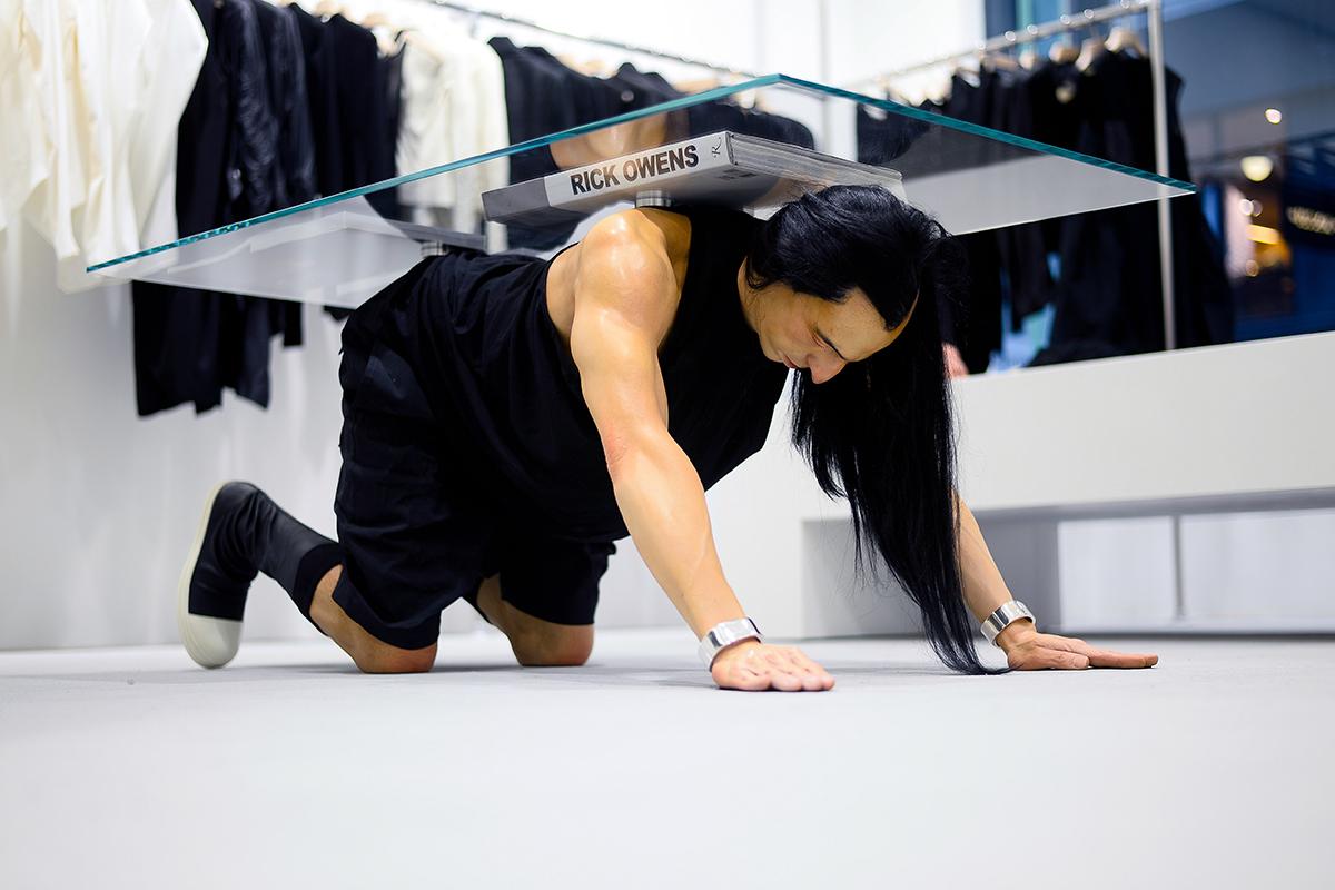 Rick Owens Hong Kong Freestanding Store Opening