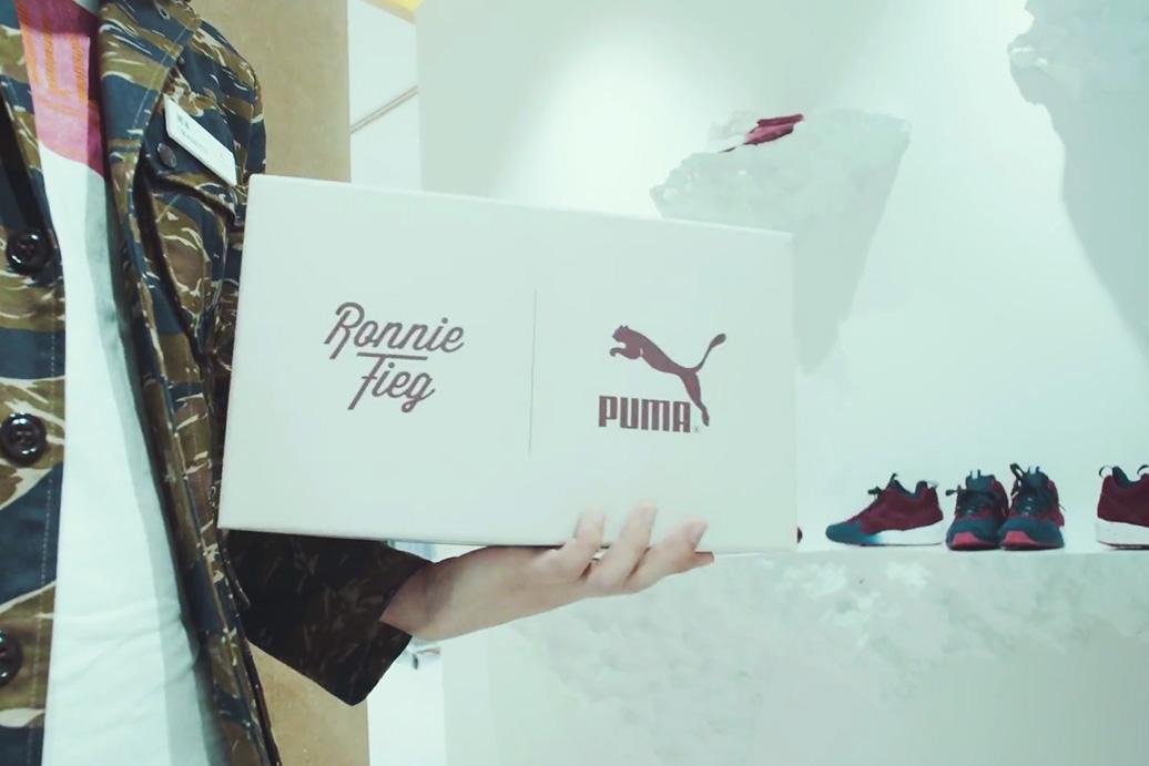 "Ronnie Fieg x UNITED ARROWS & SONS x PUMA ""Sakura Project"" Recap"
