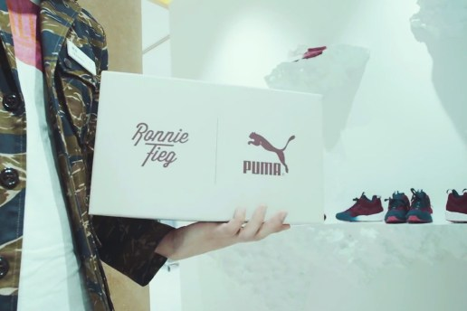 "Ronnie Fieg x UNITED ARROWS & SONS x PUMA ""Sakura Project"" Recap"