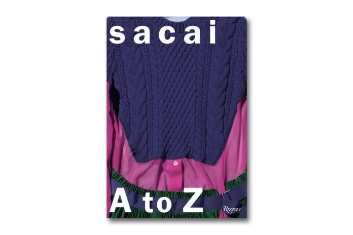 'sacai: A to Z' Book by Rizzoli