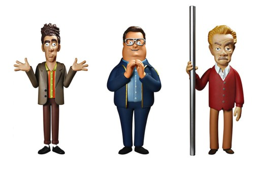 'Seinfeld' Action Figures by Vinyl Sugar
