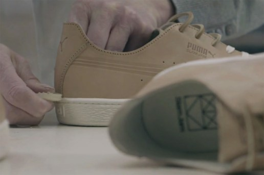 "Slam Jam x PUMA States ""Secret Color"" Creation Process Video"