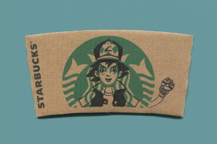sleevebucks: Illustrated Starbucks Cup Sleeves