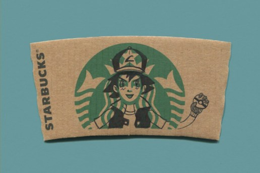 sleevebucks: Illustrated Starbucks Cup Sleeves