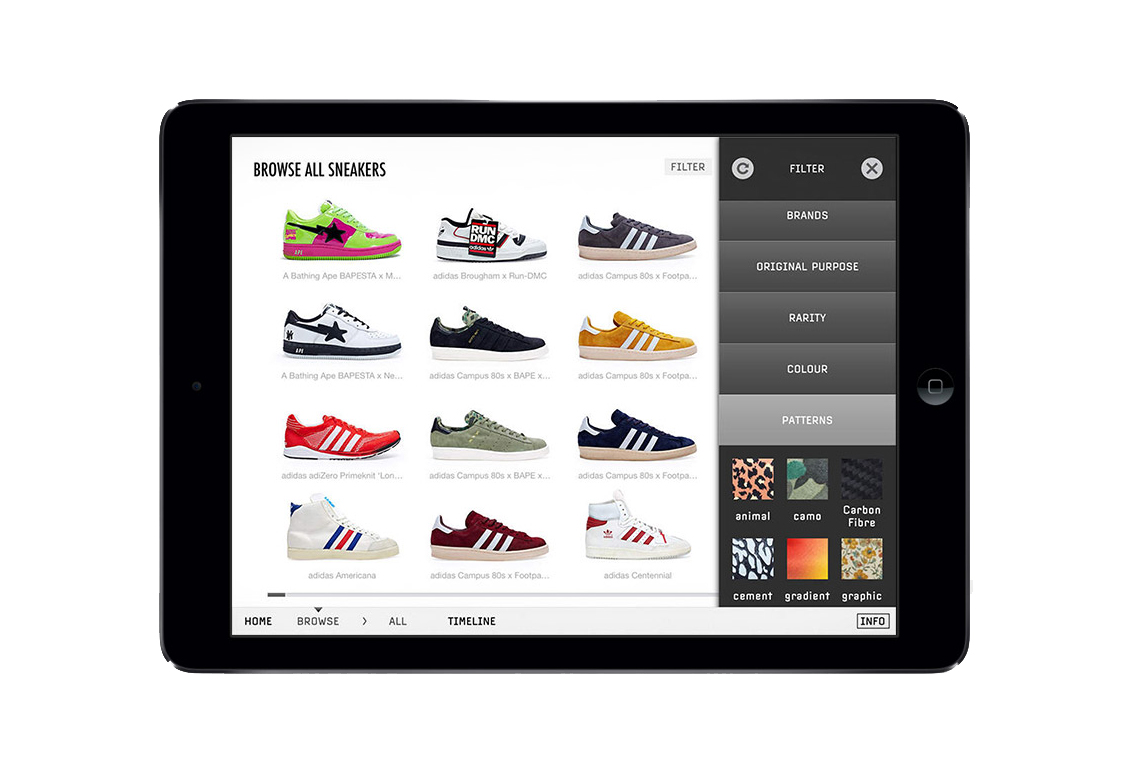 Sneakers: The Complete App by U-Dox