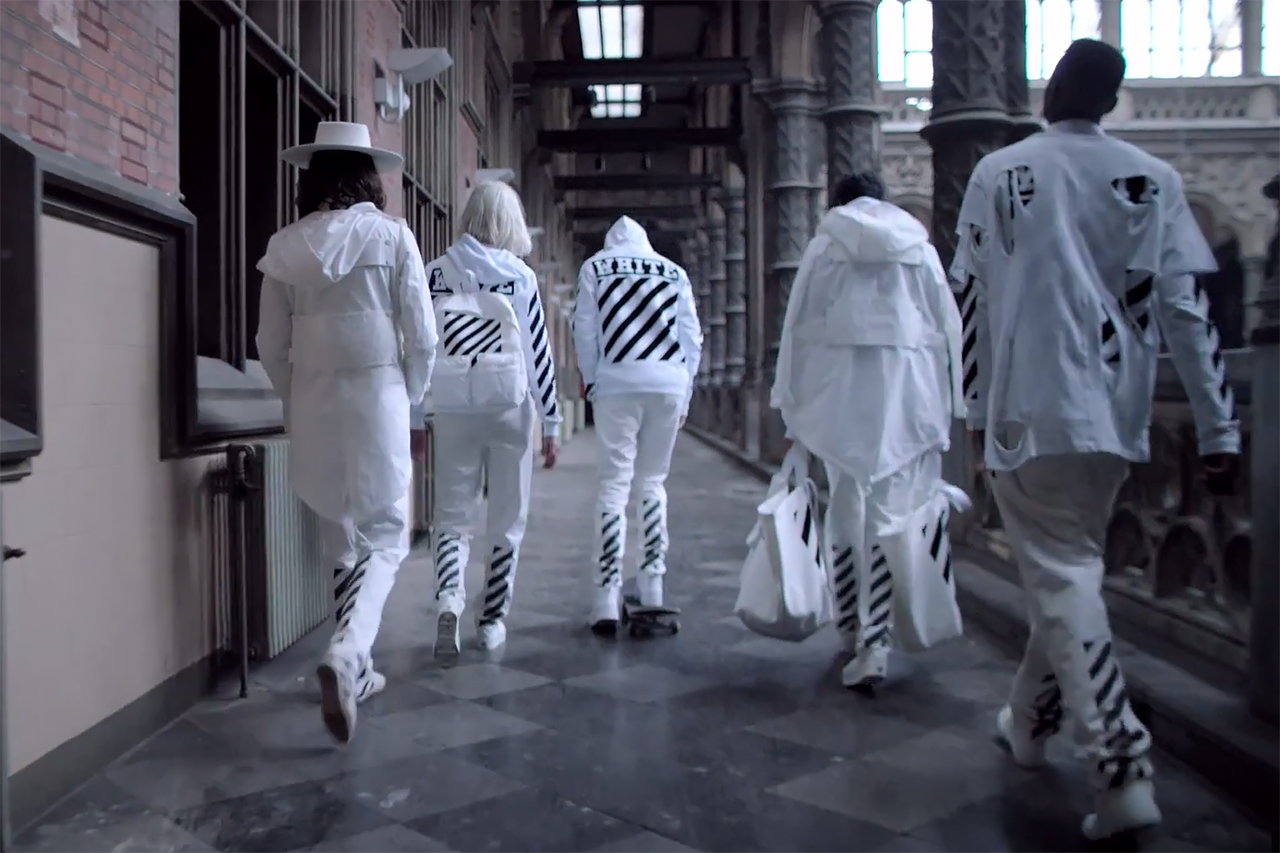 """SSENSE x OFF-WHITE c/o VIRGIL ABLOH 2015 Spring/Summer """"BEFORE and AFTER"""" Capsule Collection"""