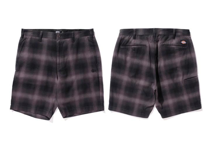 Stussy x Dickies 2015 Spring/Summer Shorts