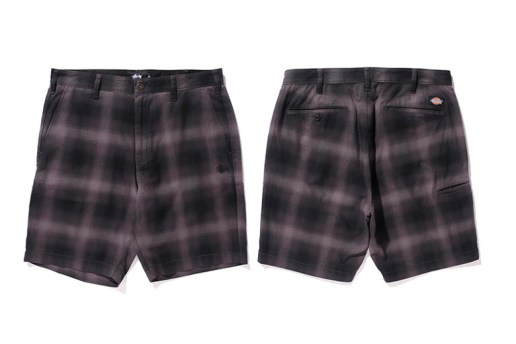 Stussy x Dickies 2015 Spring/Summer Shorts