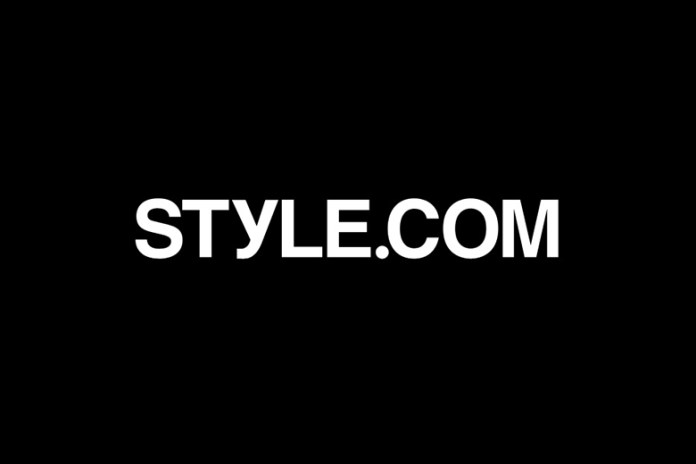 Style.com Transitioning Into E-Commerce Under Condé Nast