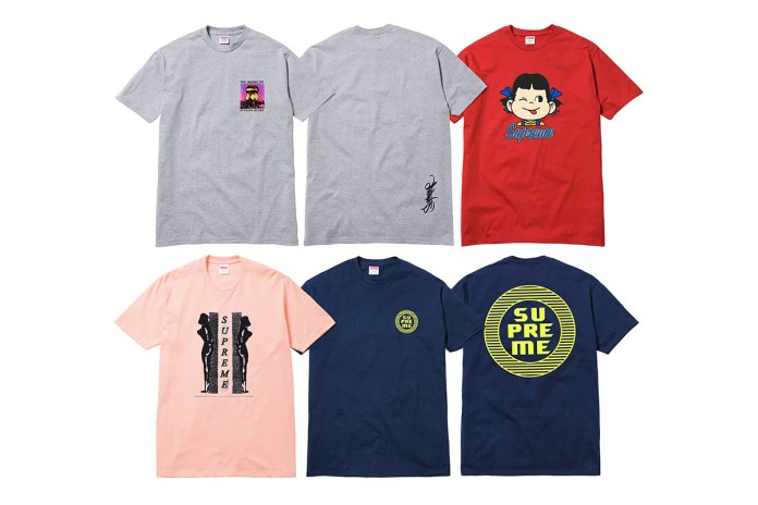 Supreme 2015 Spring T-Shirt Collection - Delivery 2