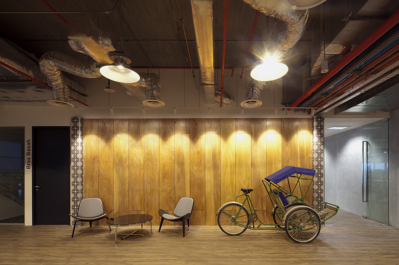 Take a look inside booking com s singapore office by sca design