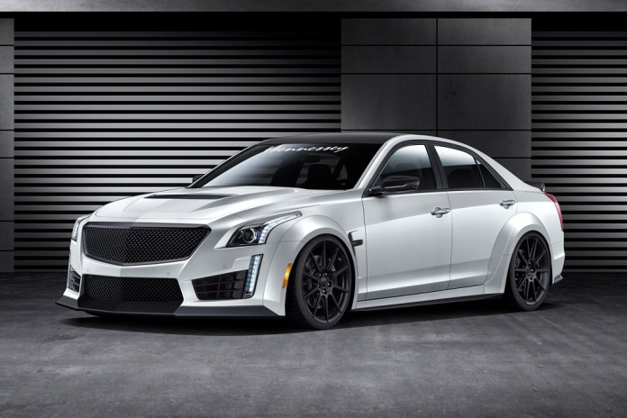 The 2016 Hennessey HPE1000 CTS-V is World's Fastest Sedan With 1000 Horsepower