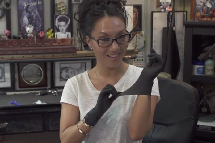 The Hundreds Presents 'Hobbies with Asa Akira' - Tattooing