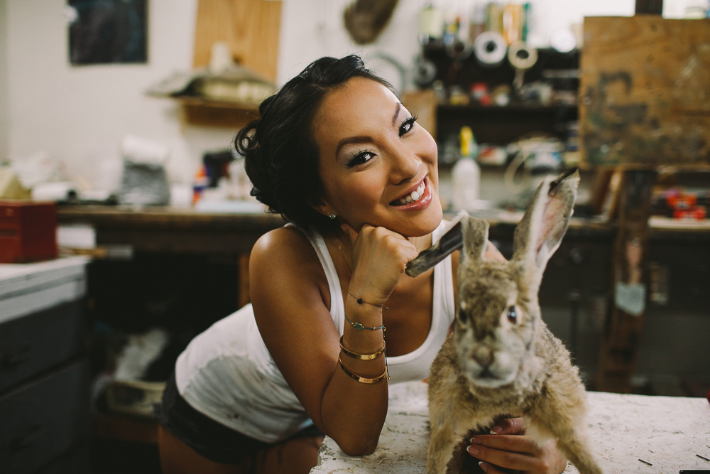 The Hundreds Presents 'Hobbies with Asa Akira' - Taxidermy