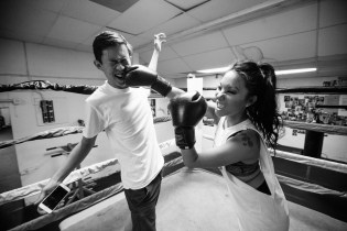 The Hundreds Presents 'Hobbies With Asa Akira' - Boxing