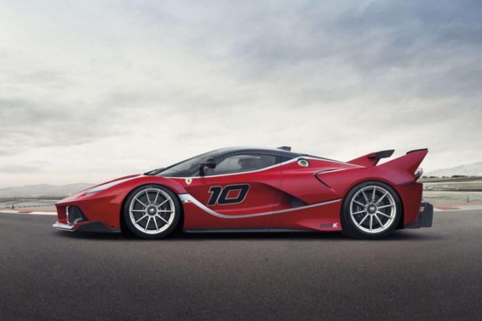 The Making of the Ferrari FXX K