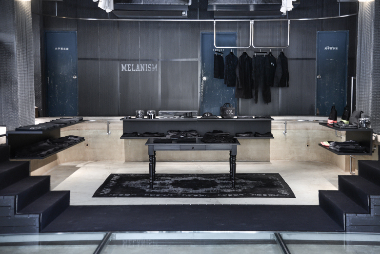 """A Look Inside the POOL aoyama """"MELANISM"""" Pop-Up Store"""