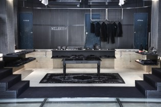 "A Look Inside the POOL aoyama ""MELANISM"" Pop-Up Store"