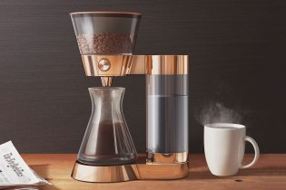 The Poppy Pour-Over Coffee Machine