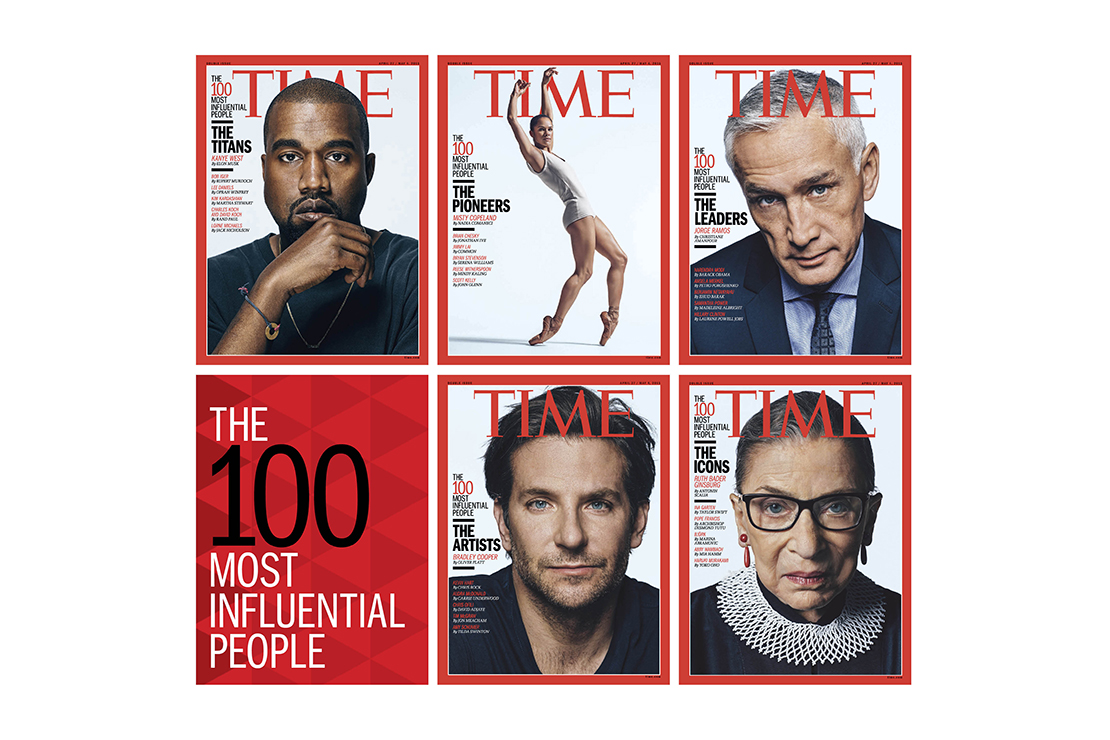 "'TIME' Reveals Its ""TIME 100"" for 2015"