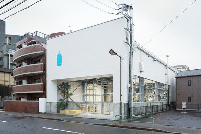 Tokyo's Blue Bottle Coffee by Schemata Architects