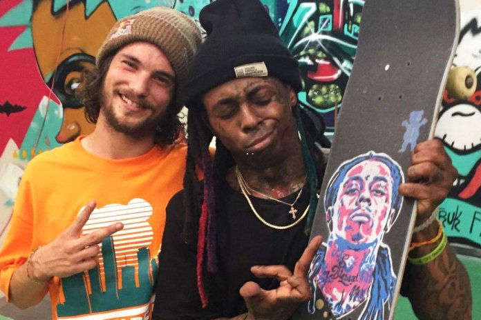 Torey Pudwill and Lil Wayne Skate Weezy's Private Miami Skate Park