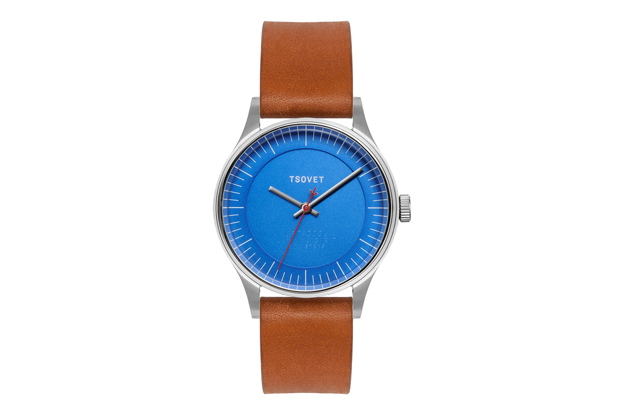 TSOVET JPT-C036 Matte Blue Watch